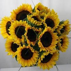 Sonnenblume-Blumenstrauss