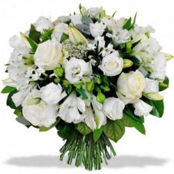 Bouquet rond de lys